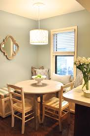 Breakfast Banquette Client Before And After Built In Breakfast Banquette Love Your Home
