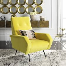 Retro Accent Chair Fox6258a Accent Chairs Furniture By Mid Century And Mid