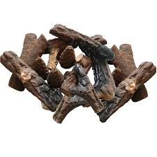 Propane Fireplace Logs by Of 18 Ceramic Fiber Petite Propane Gel Ethanol Or Gas Fireplace Logs