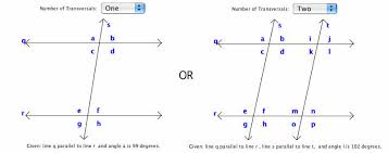 Alternate Corresponding And Interior Angles Interactivate Angles