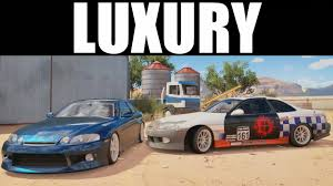 lexus sc300 wing fh3 drift build lexus sc300 the luxury supra youtube