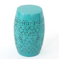 Ceramic Side Table Ceramic Drum Table Wayfair