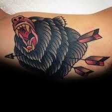 best 25 traditional bear tattoo ideas on pinterest black bear