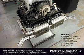 porsche 911 sc engine for sale 911 exhaust system package 3 6l to 1975 1989 porsche 911 sc