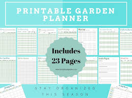 printable vegetable planner ultimate printable garden planner stay super organized this