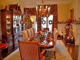 dining room christmas decorations home design