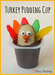 food friday turkey pudding cups thanksgiving ideas