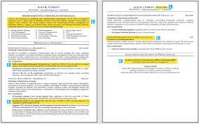 Resume Header Examples by One Page Resume Commercetools Free Cv Resume Templates In Doc