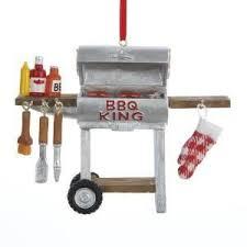 bbq king grill ornament ornaments