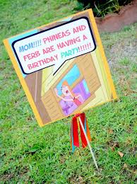 phineas and ferb 5th birthday party kara u0027s party ideas the