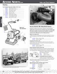 series ii iia iii cooling u0026 heating rovers north classic