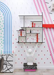Hair Salon Interiors Best Accessories Mix Up The Colours And Patterns Add Some Cool Accessories Et