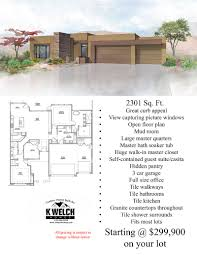 up to 2500 sq ft u2013 k welch homes