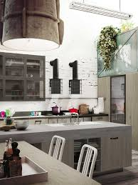 loft snaidero hotte cuisine pinterest loft kitchen lofts