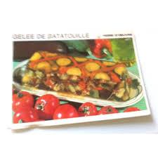 la bonne cuisine fiche cuisine vintage rétro gelée de ratatouille