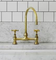 unique kitchen faucet unlacquered brass kitchen faucet kenangorgun
