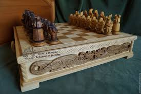 Chess Table Buy Chess And Table Vikings On Livemaster Online Shop