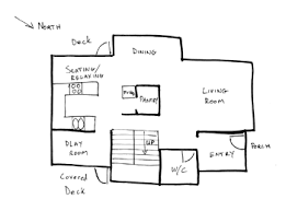 simple house plans draw floor plans