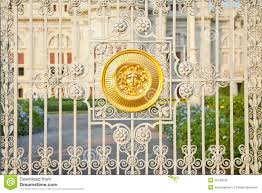 gate throne hall in thai palace bangkok stock photo image 55130238