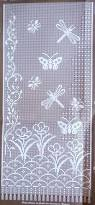 Crochet Curtain Designs Love This Filet Crochet Design Summer Crochet Patterns