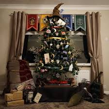 themed christmas tree this harry potter themed christmas tree is magic martha