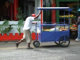 marchand de cuisine ile maurice marchand ambulant avec sa cariole cuisine mauricienne