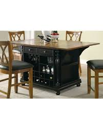 stationary kitchen island amazing deal on coaster furniture stationary kitchen island with