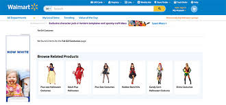 Halloween Costumes Kids Walmart Walmart Receives Controversy U0027fat Costumes U0027 Section