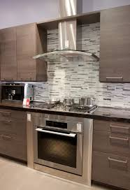 Pictures Of Backsplashes In Kitchens Kitchen Glass Chimney Hood Gray Backsplash Kitchen Ideas
