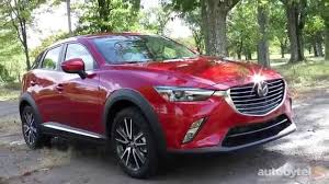 mazda car range 2016 2016 mazda cx 3 awd grand touring test drive video review
