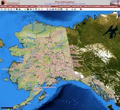 Alaska On A Map by Tuesday Updates On Interior Alaska Fires Local News Newsminer Com
