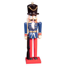 the christmas workshop 84570 30 cm tall wooden soldier nutcracker