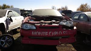 junkyard gem 2000 chevrolet monte carlo ss pace car edition