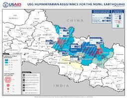 Nepal Map World by Nepal Earthquake Fact Sheet 14 U S Agency For International