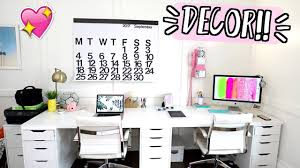 new office decor alishamarievlogs youtube