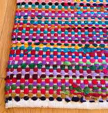 Shaggy Rag Rugs Rag Rug With Multi Color Design The Best Rugs