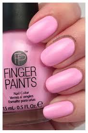 fingerpaints pastel rain collection model city polish