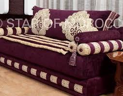 marokkanische sofa wandbilder wohnzimmer blumen eleganten diy marokkanische sofa base