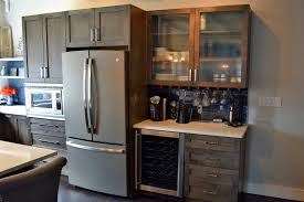 Maple Finish Kitchen Cabinets Bkc Kitchen And Bath Crystal Cabinets Regent Door Style