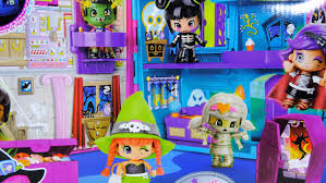pinypon pinymonsters u0027 halloween house of terror youtube