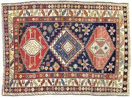 tappeti antichi caucasici shirvan caucasico antico in perfetto stato di conservazione