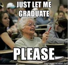 Old Lady College Meme - freshman guide to college longhorn humor