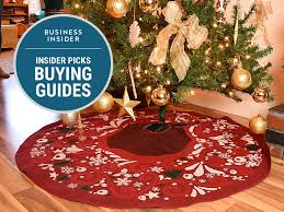 tree skirts the best tree skirts you can buy on business insider