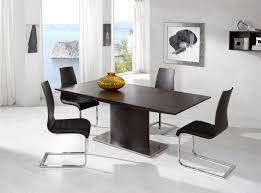Exotic Dining Room Sets Modern Dining Room Tables Shaped Modern Black Dining Room Table