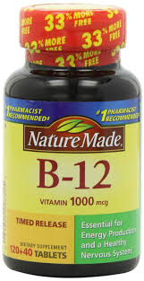 nature made b12 vitamins 1000 mcg 160 tablets rite aid