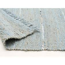 Jute And Sisal Rugs Saville Jute And Leather Rug Blue Free Shipping Australia Wide