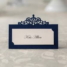 Creative Seating Place Blue Place Cards Promotion Shop For Promotional Blue Place Cards