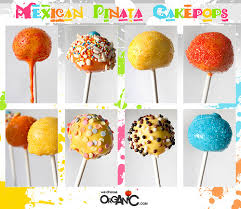 themed cake pops mexican piñata themed cake pops niner bakes