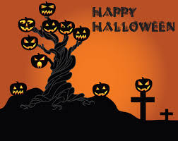 happy halloween text art halloween backgrounds pictures festival collections best
