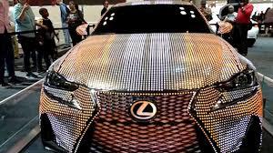 lexus nx new york auto show 2017 lexus es 350 41999 led 175000 lumen show car new york